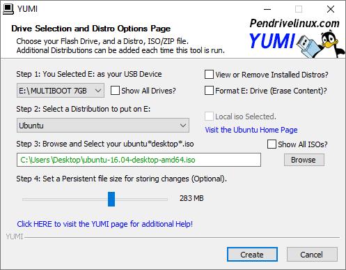 YUMI - Multiboot USB Creator